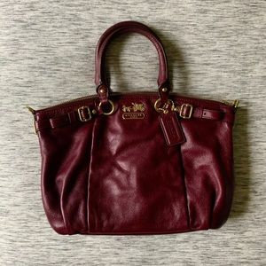 "COACH Madison ""Sophia"" Leather Bag"
